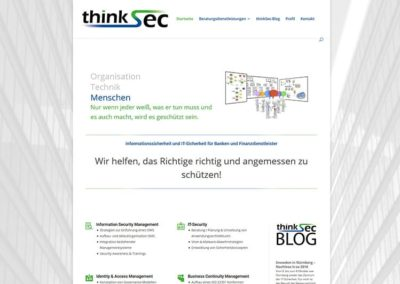 Website für IT-Unternehmen in Eschborn