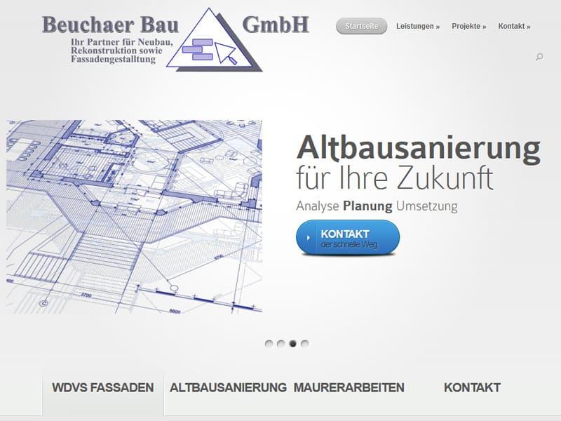 CMS Website WordPress für eine Baufirma aus Leipzig