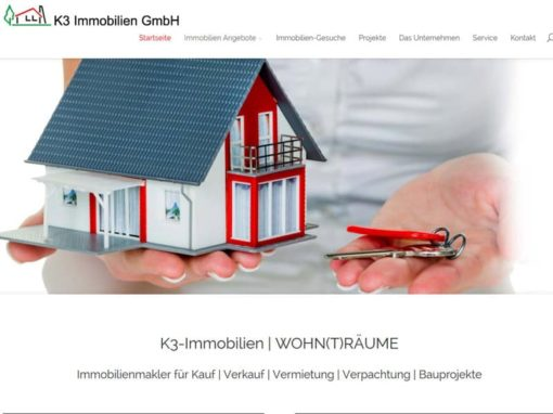 WordPress Website für eine Immobilien Firma aus Egelsbach