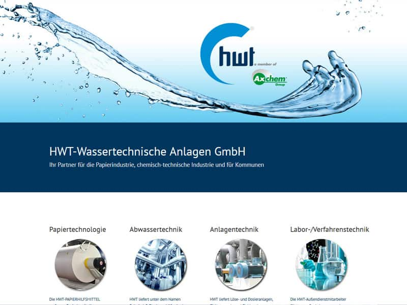 Website für HWT Erzhausen Aktion 449,-