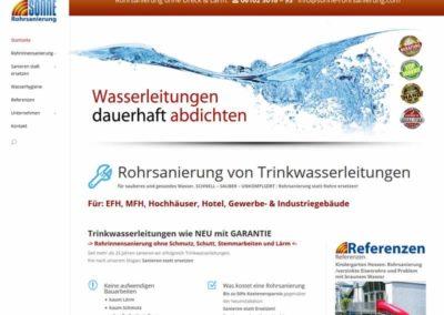 WordPress-Website für Sonne Haustechnik in Neu Isenburg