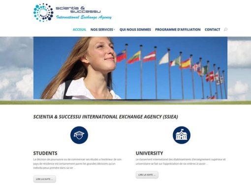 """Neue """"Homepage"""" mit WordPress für SSIEA"""