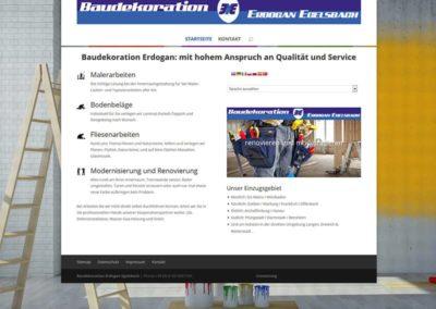 Webvisitenkarte für Unternehmen in Egelsbach