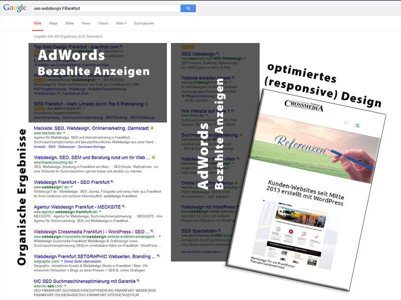 """Responsive """"Homepage"""" für ein besseres Ranking bei Google"""
