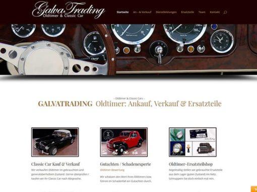 Oldtimer Website für Handel und Ersatzteile