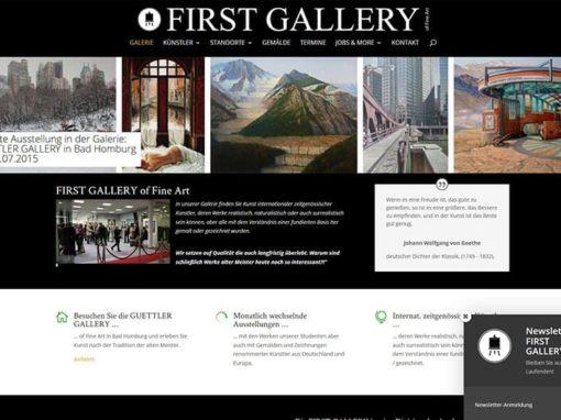 Kunst-Galerie Bad Homburg mit neuer Website