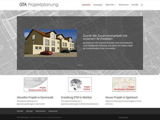 Homepage für ein Unternehmen in Erzhausen