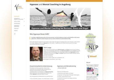 Erstellung Website / Homepage für Mental Coaching in Augsburg