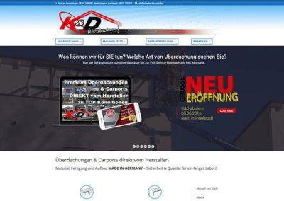 Rüsselsheim: neue Homepage / Website mit aktueller Technik und optimiertem CI
