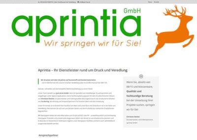 Firmen-Website Dienstleister Dreieich/Heidelberg