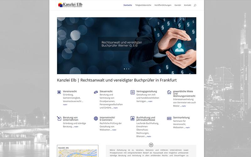 Homepage Rechtsanwalt Frankfurt