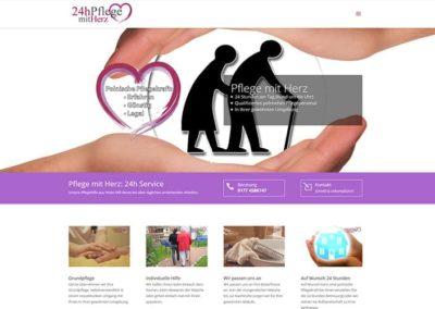 Pflegedienst in Dietzenbach – neue Webvisitenkarte