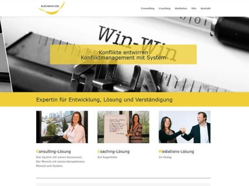 Website /Homepage an einem Tag