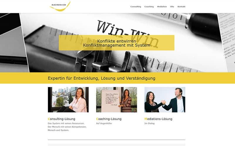 Neue Website an einem Tag
