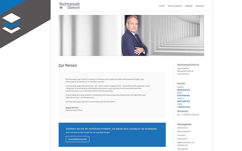 Homepage-rechtsanwalt