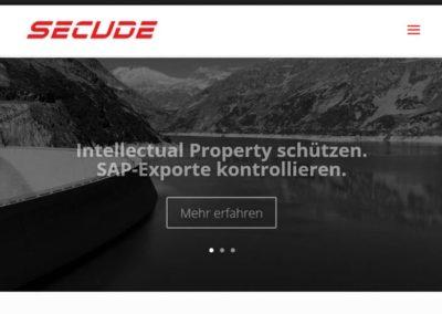 WordPress Website für Security Lösungen SAP