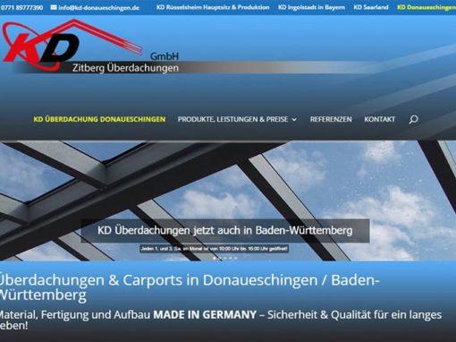 Überdachung / Carport Donaueschingen