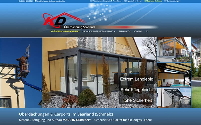 Saarland-Kontakt-Referenz