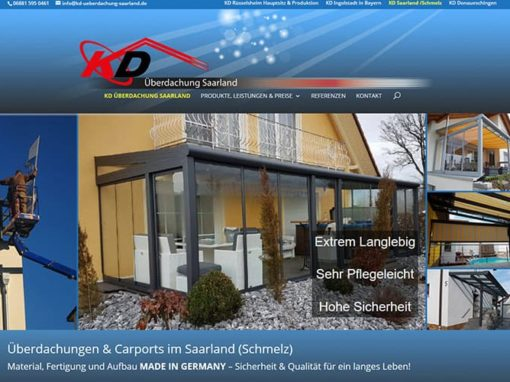 Saarland / Schmelz Website