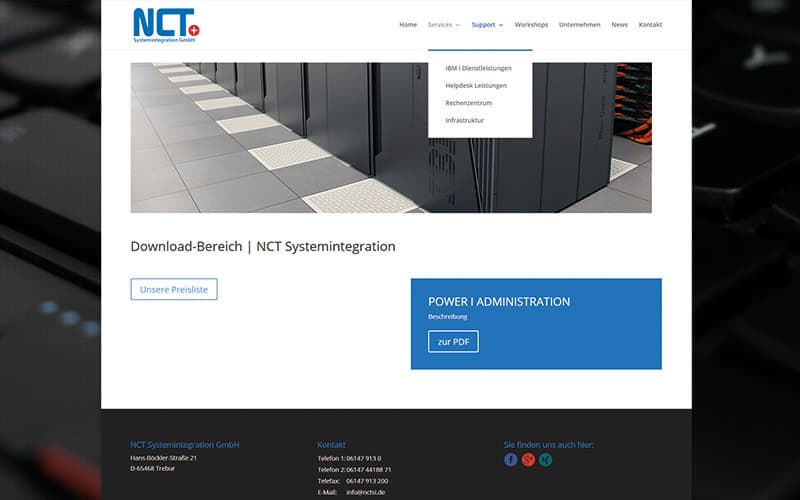 Trebur-Homepage-IT-Unternehmen