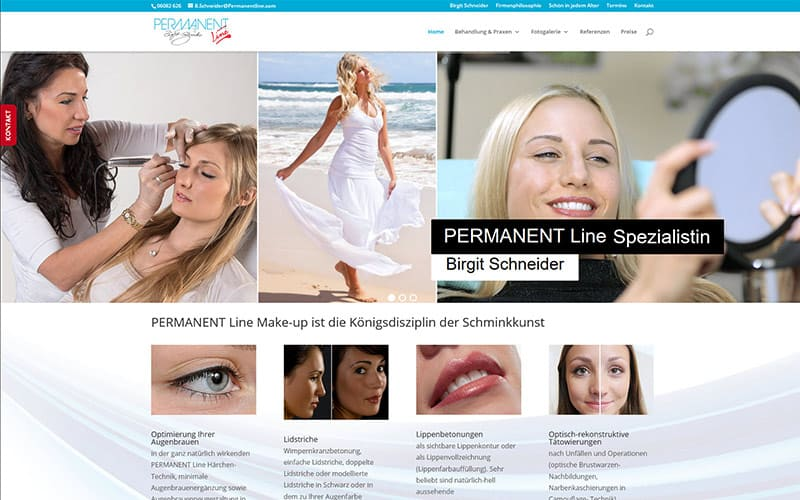 Oberems | Relaunch für Permanent Makeup