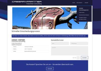 Limburg   Consulting: Homepage an einem Tag