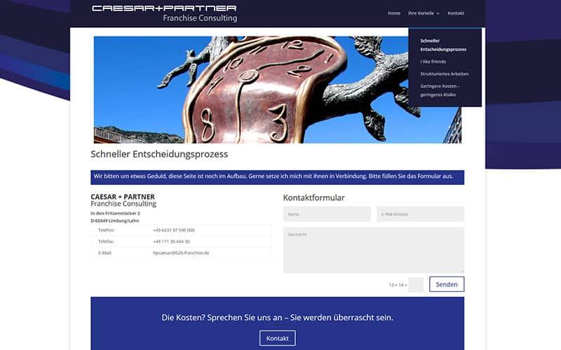 Limburg | Consulting: Homepage an einem Tag