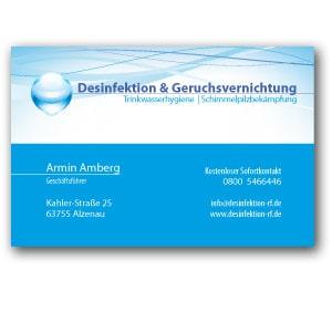 desinfektion-logo-auf-visitenkarte