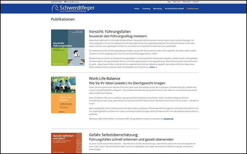 Unternehmensberater Website Groß Gerau
