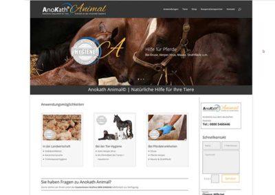 Erstellung einer Homepage für Tierpflege