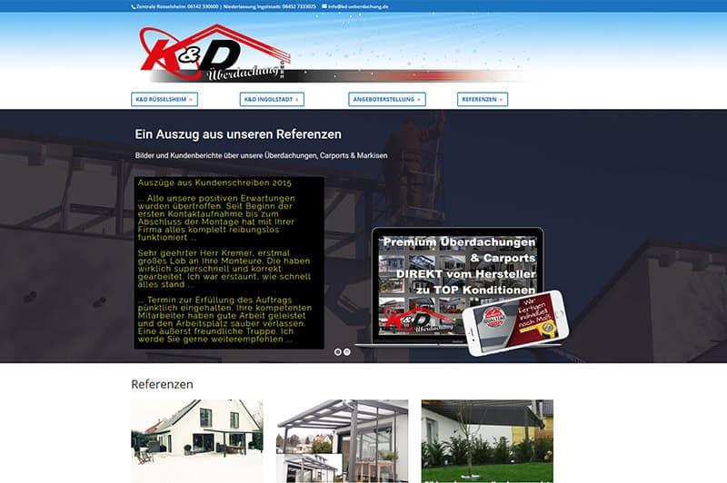 Website-Formular-Anfrage