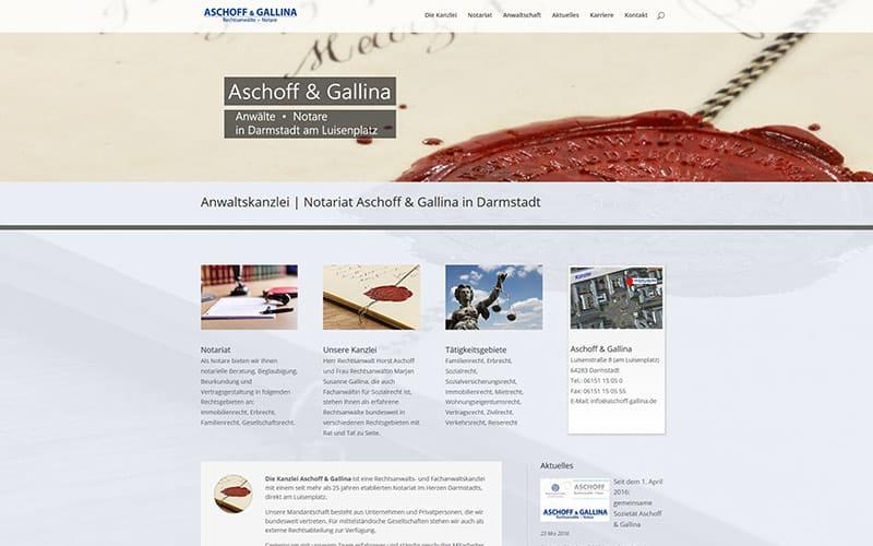 Aschoff & Gallina