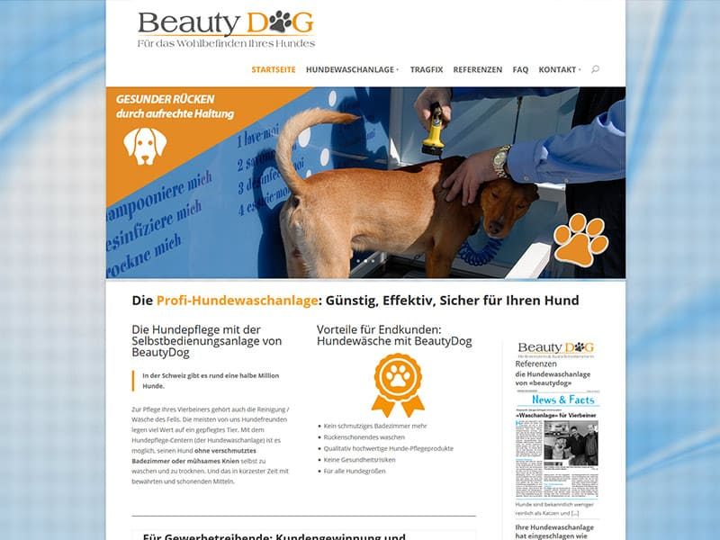 WEbsite BeautyDog