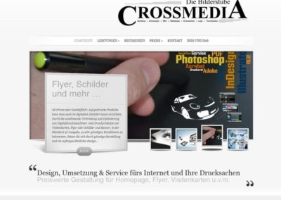 "WordPress Website ""Die Bilderstube"" aus Egelsbach / Hessen"