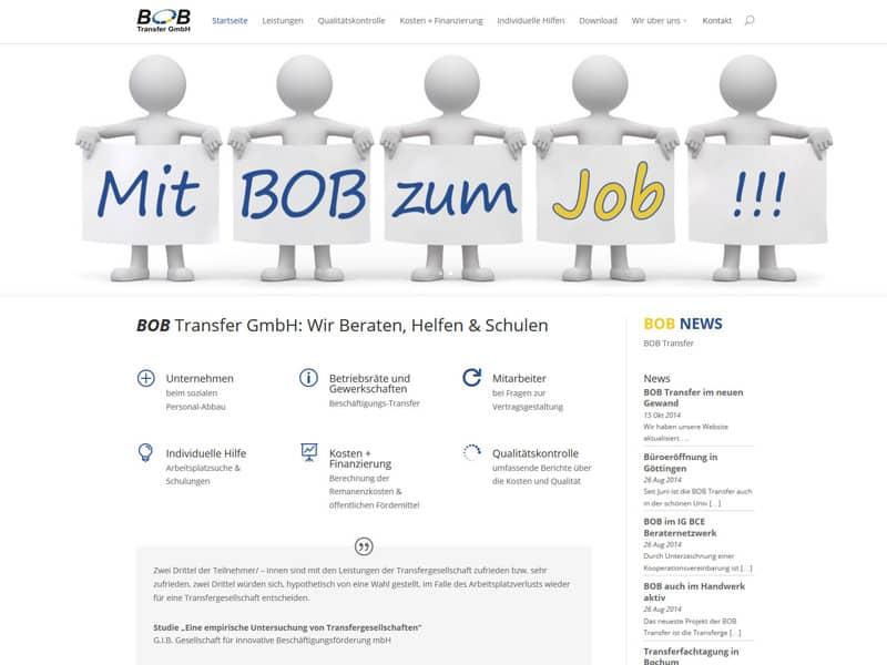 Einbindung Google-Map für BOB-TRansfer