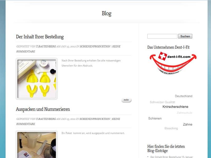 Referenz Homepage zahn-Schutz