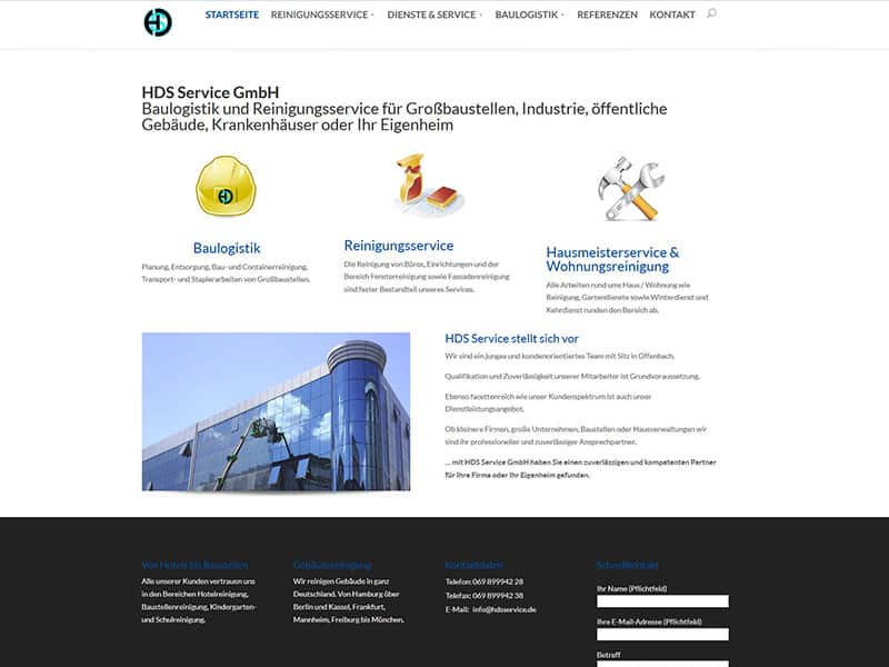 Homepage Offenbach HDS Service