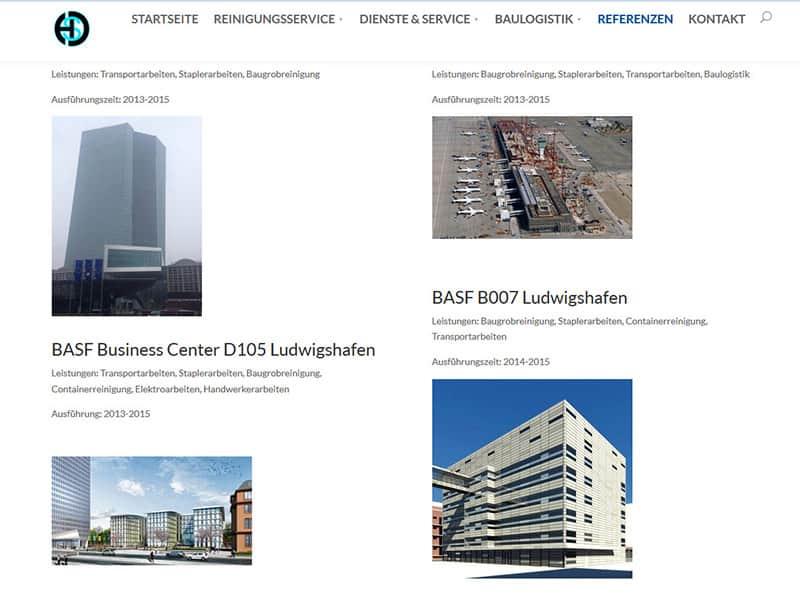 Neue Website für Unternehmen in Offenbach