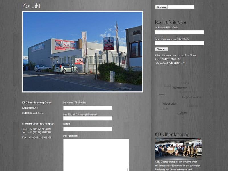 Referenz K&D Webdesign