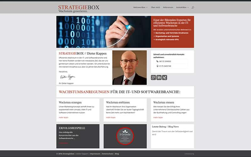 Website-Unternehmesberater