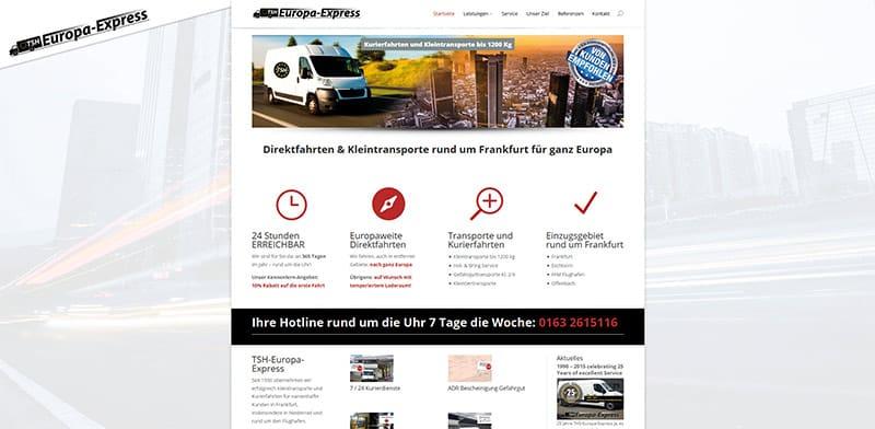 Transportfirma Frankfurt