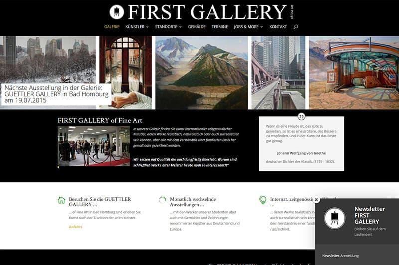 FIRST GALLERY Galerie Gemälde