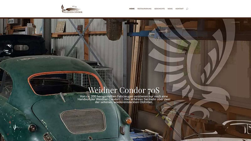 Startseite WEidner Condor Homepage