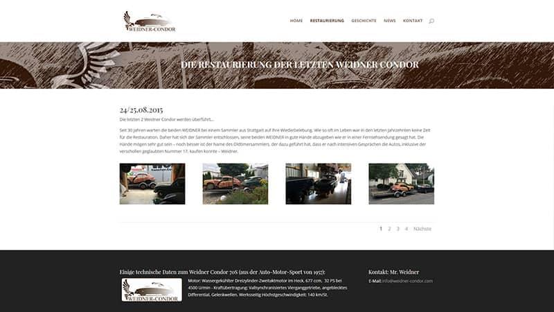 Blog Erstellung WordPress