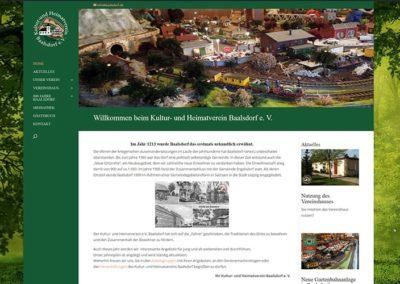 Homepage für eine Gemeinde