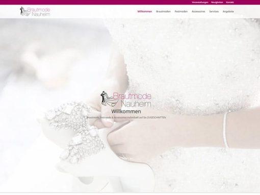 Brautmode Nauheim | Erstellung einer Website