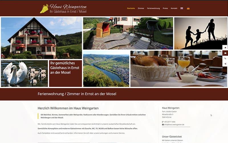 Haus Weingarten in Ernst an der Mosel