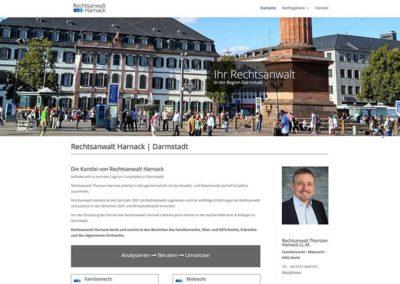 Homepage-Erstellung Rechtsanwalt in Darmstadt