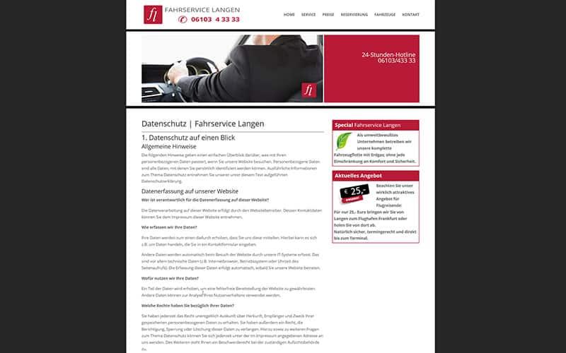 Website gem. DSGVO