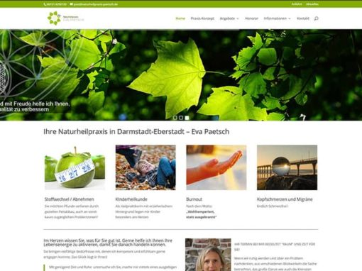 Darmstadt | Homepage-Erstellung Naturheilpraxis